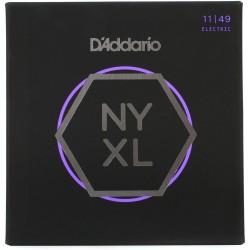 Cuerdas p/ Guitarra Electrica D´Addario NYXL11-49