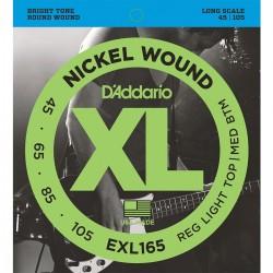 Cuerdas D´Addario p/ Bajo Electrico 45-105 XL