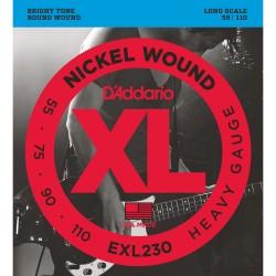 Cuerdas D´Addario p/ Bajo Electrico 55-145 XL