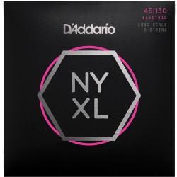 Cuerdas D´Addario p/ Bajo NYXL 45-130