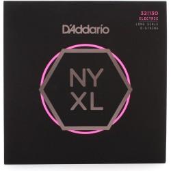 Cuerdas D´Addario p/ Bajo NYXL 32-130