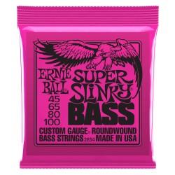 Cuerdas Ernie Ball p/ Bajo 45-100