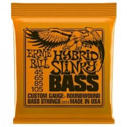 Cuerdas Ernie Ball p/ Bajo 45-105