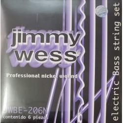 CUERDAS JIMMY WESS P/BAJO 6 CUERDAS 28-125