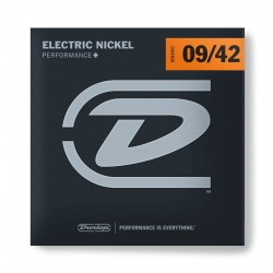 CUERDAS DUNLOP PERFORMANCE+ P/GUITARRA ELECTRICA 09-42