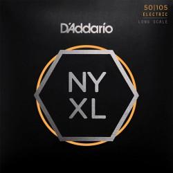 CUERDAS D´ADDARIO NYXL P/BAJO ELECTRICO 4 CUERDAS 50-105 XL