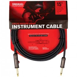 CABLE PLANET WAVES CIRCUIT BREAKER P/INSTRUMENTO 4.57M.
