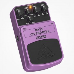 PEDAL BEHRINGER P/ BAJO ELECTRICO (OVERDRIVE)