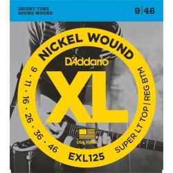 Cuerdas p/ Guitarra Electrica D´Addario 9-46 XL