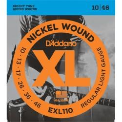 Cuerdas p/ Guitarra Electrica D´Addario 10-46 XL