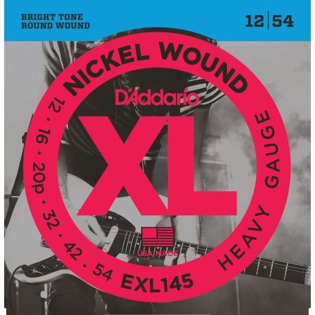 Cuerdas p/ Guitarra Electrica D´Addario 12-54 XL